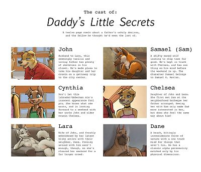 Daddys Little Secrets