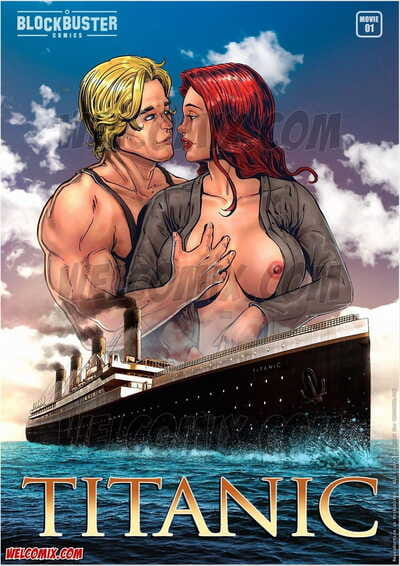 BlockBuster Comics Titanic